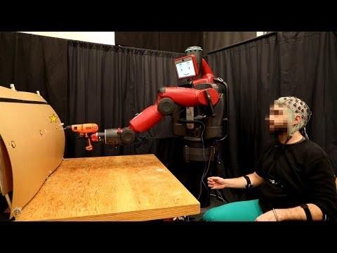 Styr roboten med hjärna och muskler