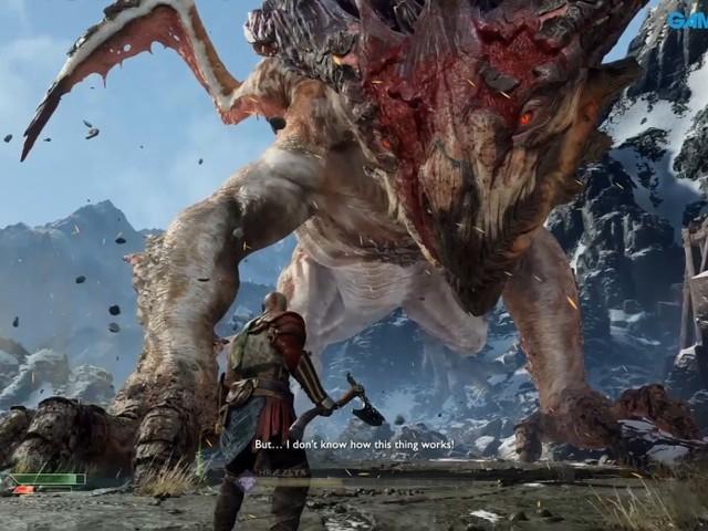 GRTV spelar God of War (så dödar du enklast en drake)