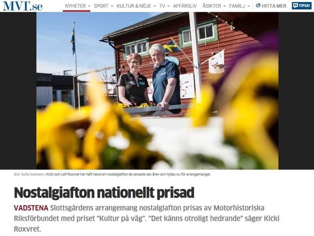 Bilnostalgi i slottsmiljö får förstapris