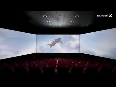 Sony ska börja visa en del av sina filmer på ScreenX-biografer