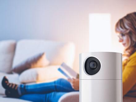 Toshiba visar övervakningskamera med Alexa