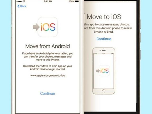 Så flyttar du från Android till Iphone
