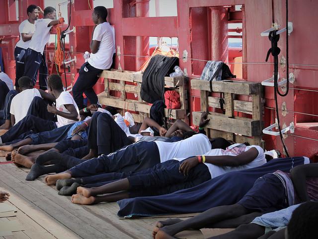 Framtiden oviss för sjöräddning på Medelhavet