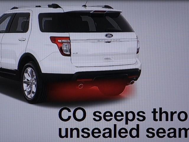 """""""Dåligt tätad kaross gör Ford Explorer livsfarlig"""""""