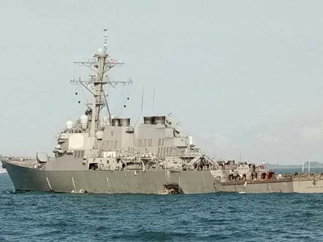 Ovanligt många kollisioner med krigsfartyg