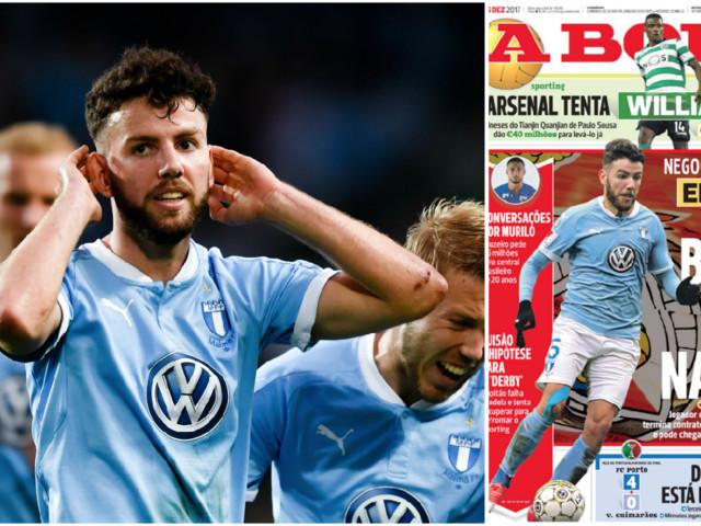 Uppgifter: Rakip i förhandlingar med Benfica