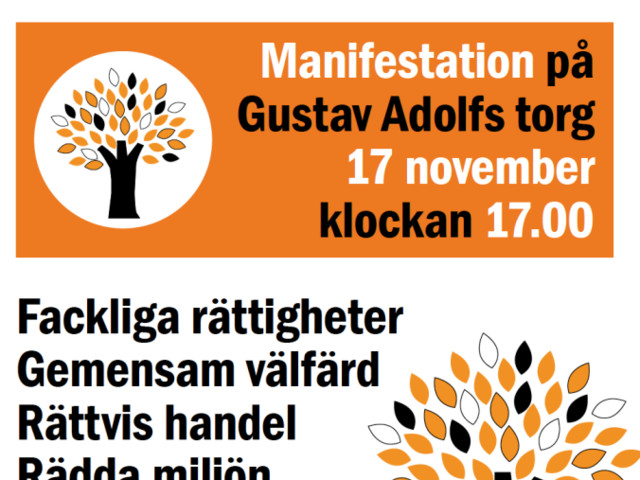 Alternativa EU-toppmötet i Göteborg