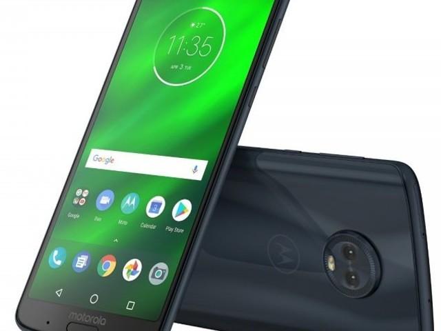 Motorola introducerar Moto G6 Plus med 18:9 och främre fingeravtrycksläsare
