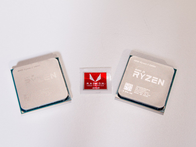 AMD Ryzen33200G med integrerad grafik dyker upp på webben
