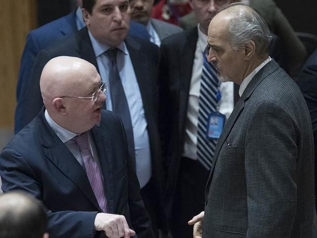 Nytt ryskt Syrien-veto väntas i FN:s säkerhetsråd