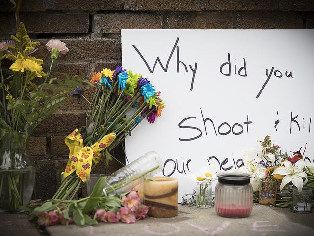 Polis åtalas för mord i Minnesota