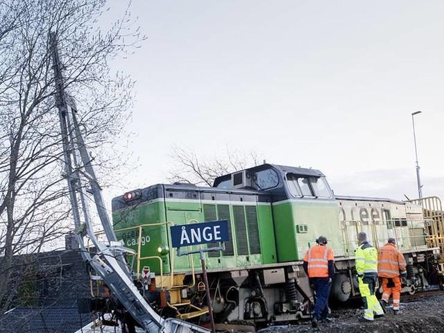 Urspårade tåget var radiostyrt