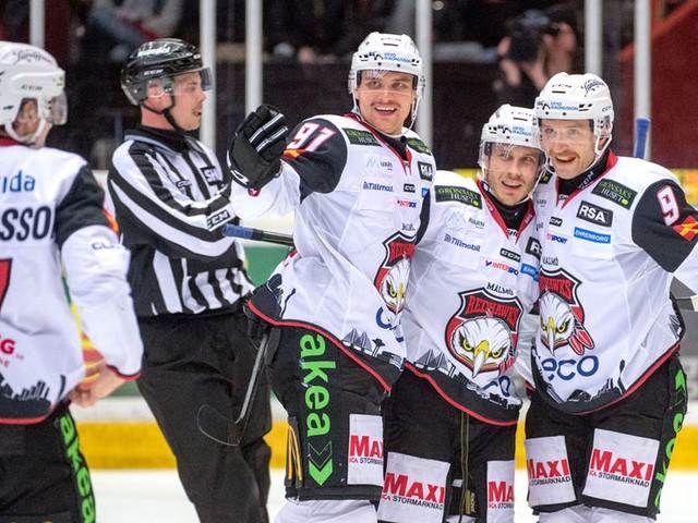 TV: Se höjdpunkterna från Brynäs-Redhawks
