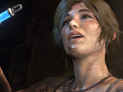 Exklusiva klipp på Rise of the Tomb Raider till Xbox One X