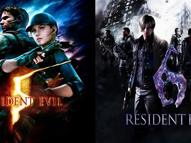 Resident Evil 5 och 6 kommer till Switch i oktober