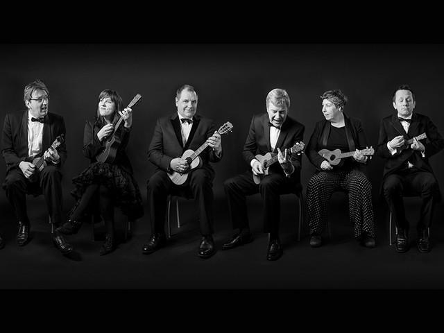 The Ukulele Orchestra of Great Britain – i mars spelar de i Stockholm