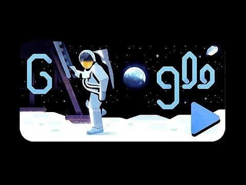 Google firar Apollo 11 med en Doodle