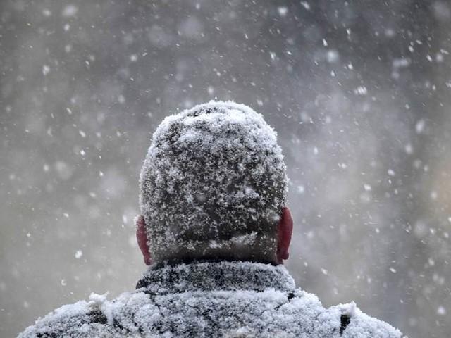Första snön är här – på tillfälligt besök