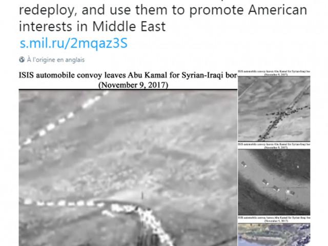 Ryssland påstår att USA stödjer ISIS med ett mobilspel som bevis