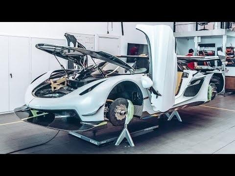 Följ med när Koenigsegg Jesko byggs