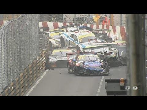 Stor seriekrock under race i Macau