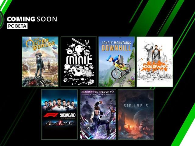 Fler spel till Xbox Game Pass-betan till PC
