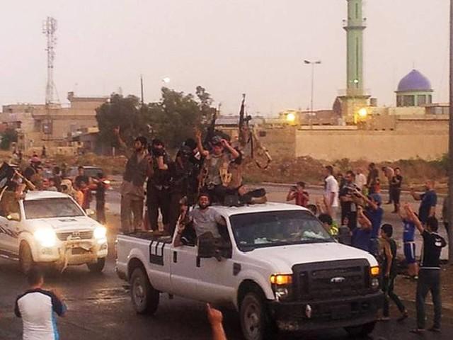 Terrorgruppen IS uppgång och fall