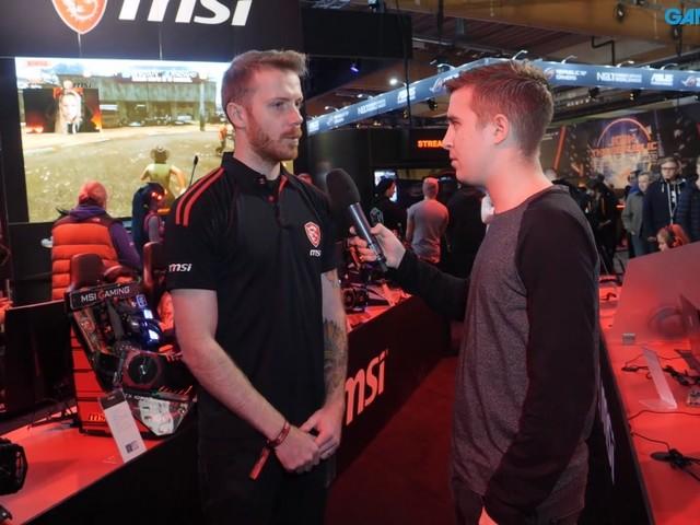 Vi pratar med MSI om deras gaming-prylar under Dreamhack