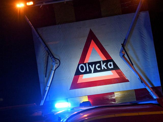 Trafikolycka på Annetorpsvägen