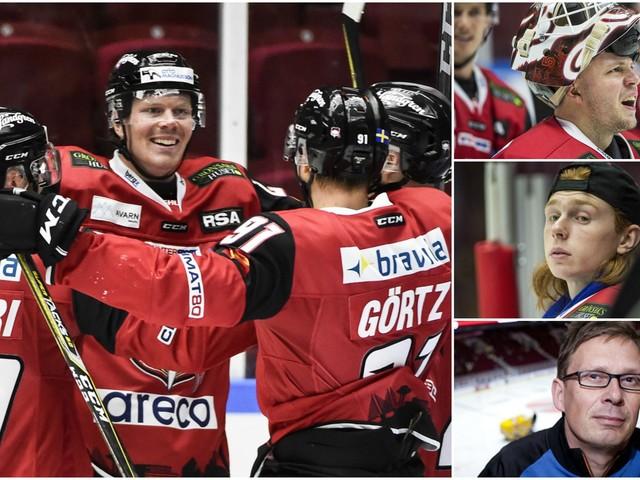 De små tingens Gud ler mot Malmö Redhawks