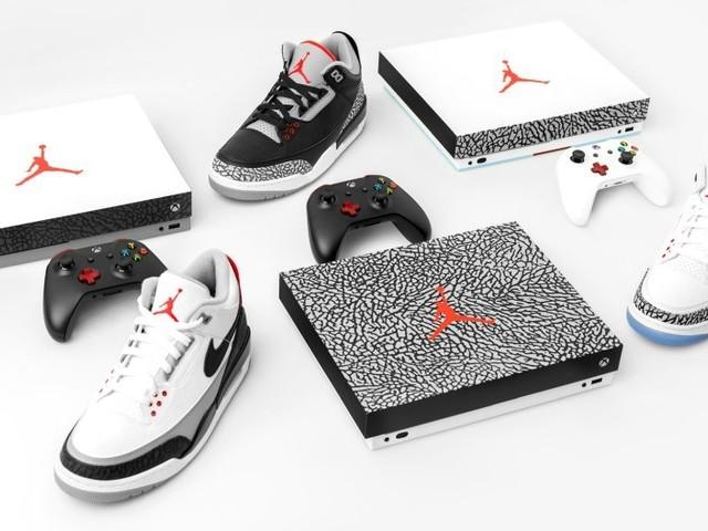 Nike designar Xbox One X med Air Jordan III-motiv