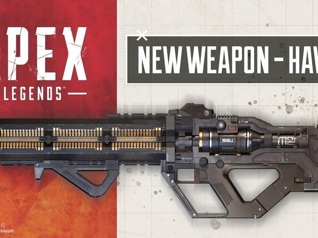 Apex Legends nya vapen heter Havoc Energy Rifle