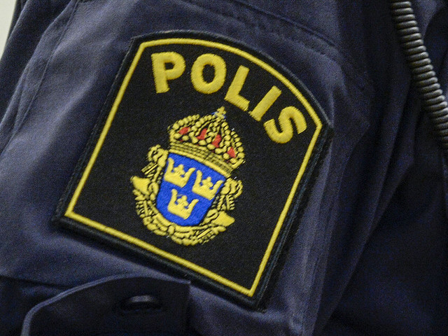 Polis riskerar varning efter skämt