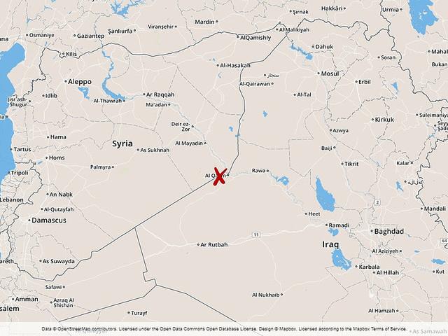 Tio döda i flyganfall i Syrien