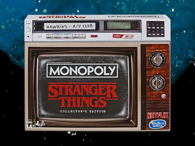 Monopol släpps med Stranger Things-tema