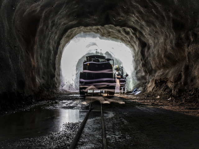 Kraftig sättning i gruvan i Malmberget