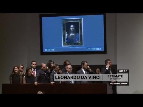 Se Leonardo da Vinci-tavlan budas bort