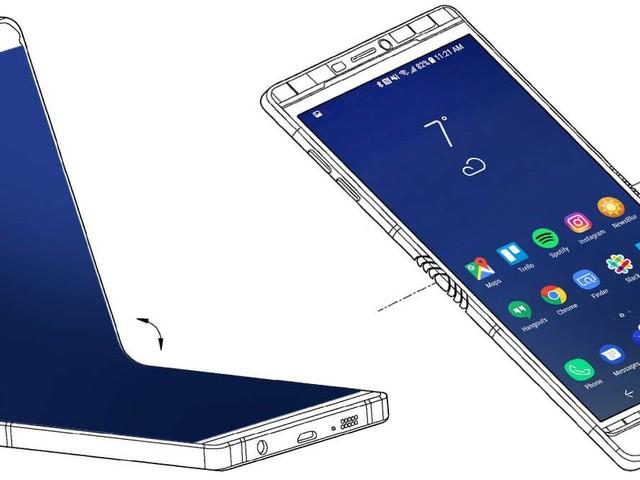 Så här kan Samsungs flexibla smartphone se ut