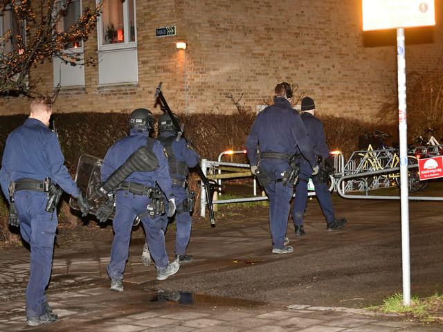 """Polisinsats på Lorensborg: """"Hörde glaskross och någon som skrek"""""""