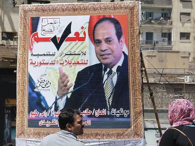 President al-Sisi kan få mer makt i Egypten