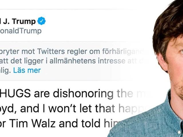 Trump kan lyckas göra sina egna tweets olagliga