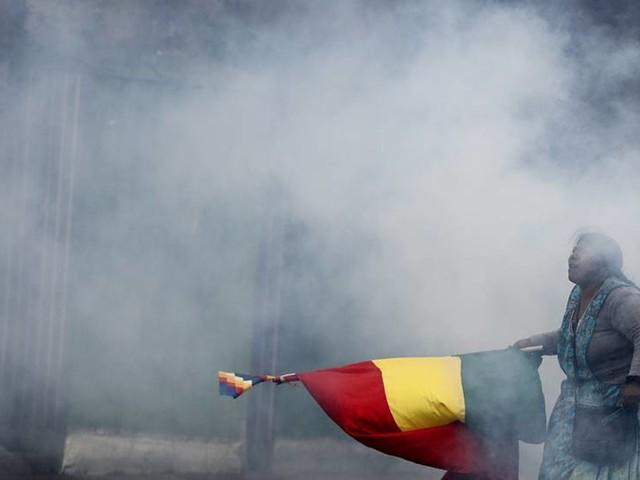 En dödad i protester i Bolivia