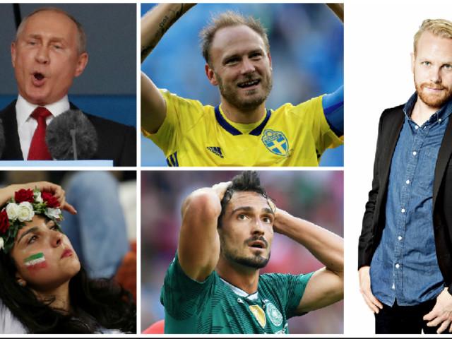 Tio saker som definierat VM i Ryssland
