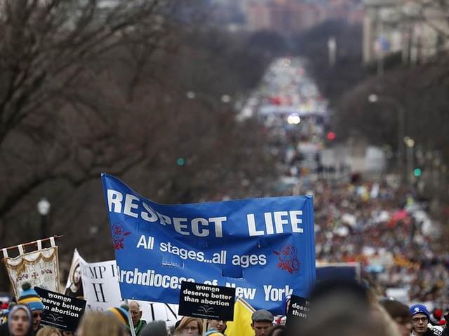 Abortmotståndare får stöd från Trump via länk