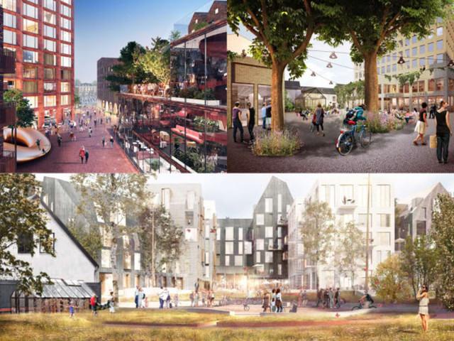 Wästbygg och Norcap utvecklar centrala Lund