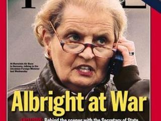 Krigshökarna Brzezinski & Kissinger hedras av norska Nobel Institute. Albright & White Helmets av svenskar. Protestera!