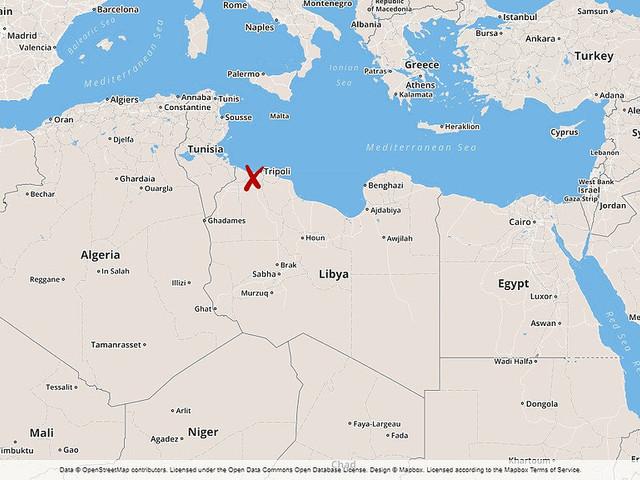 Tripolis flygplats stängd