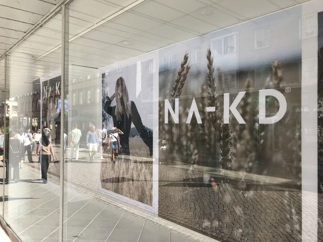 Na-Kd öppnar pop-up-butik på gågatan