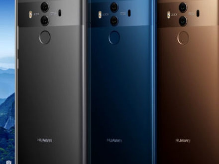 Huawei presenterar Mate 10 och Mate 10 Pro