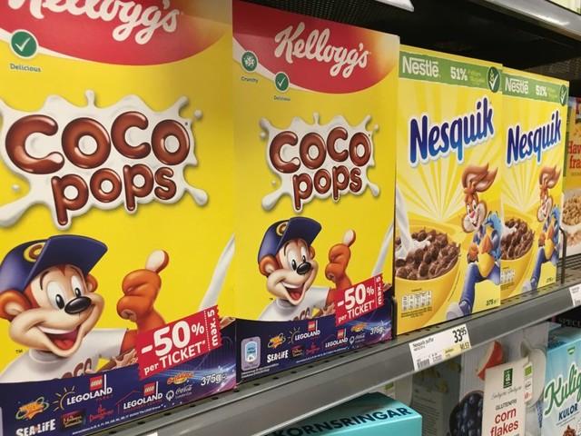 Vilseledande om socker i frukostflingor